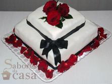 Tortas e Bolos - Bolo Casamento