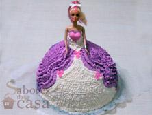 Tortas e Bolos - Bolo Barbie